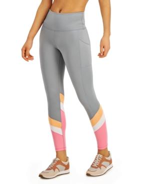 Colorblocked High-Waist 7/8 Length Leggings