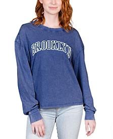Juniors' Brooklyn Long-Sleeve T-Shirt