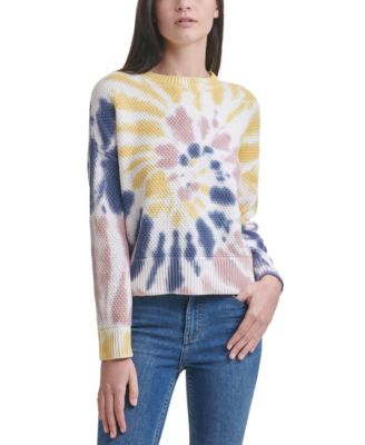 Cotton Tie-Dyed Sweater