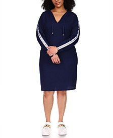 Plus Size Hoodie Dress