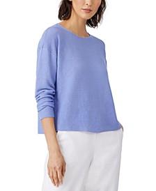 Organic Ribbed Sweater