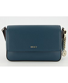 Bryant Medium Leather Flap Crossbody