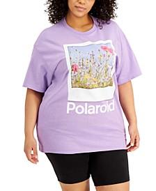 Trendy Plus Size Polaroid T-Shirt