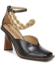 Women's Evita Ankle-Chain Pumps