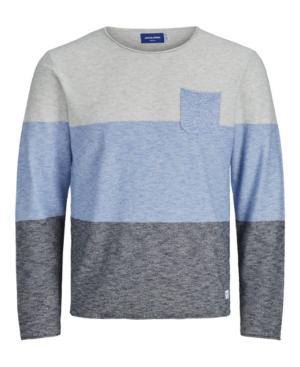 Men's Action Knit Stripe Crewneck Sweater