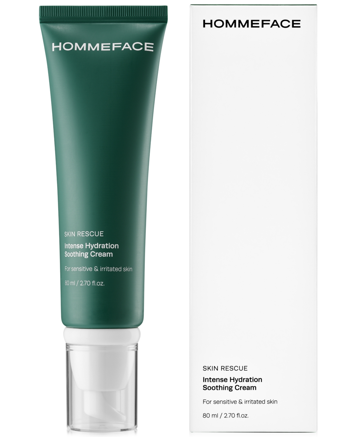Skin Rescue Intense Hydration Soothing Cream For Sensitive & Irritated Skin