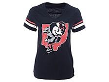 Women's Ohio State Buckeyes Varsity V-Neck T-Shirt