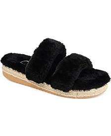 Women's Faux Fur Relax Slipper