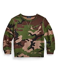 Toddler Boys Camo Sweatshirt