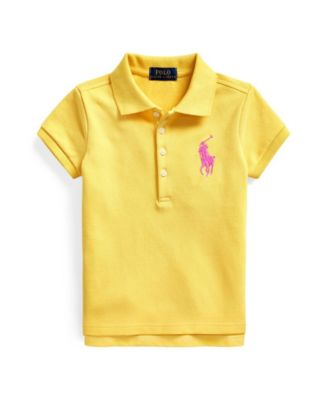 폴로 랄프로렌 여아용 폴로티 Polo Ralph Lauren Little Girls Big Pony Stretch Mesh Polo