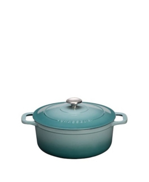 French Home CHASSEUR ENAMELLED CAST IRON ROUND DUTCH OVEN, 6.25 QUART
