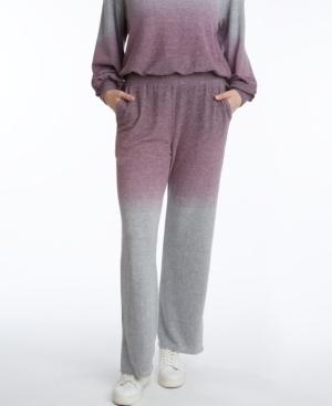 Women's Dip-Dye Wide Leg Pant