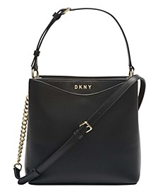 Dayna Leather Bucket Bag