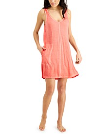 Washed Tank Chemise Nightgown, Created for Macy's