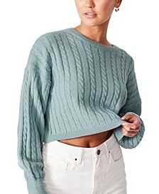Women's Cable Co-Ord Pullover