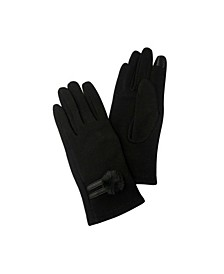 Pom Jersey Touchscreen Glove