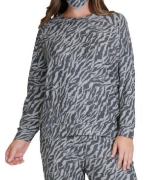 1804 Women's Plus Size Raglan Sweatshirt