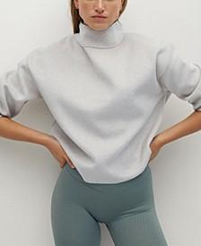 Women's High Collar Sweatshirt
