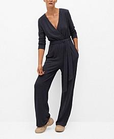Women's Cotton Long Jumpsuit