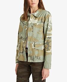 Morgan Camo-Print Jacket