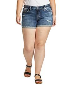 Trendy Plus Size Suki Denim Shorts