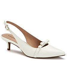 Gilaa Slingback Pumps, Created for Macy's