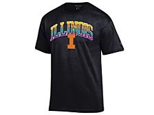 Illinois Fighting Illini Men's Neon Vault Arch & Logo T-Shirt