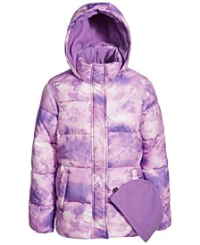 Big Girls Fleece Lined Puffer Coat
