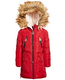 Toddler Girls Fashion Quilted Puffer Coat