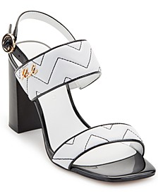 Radina Block-Heel Sandals