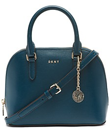 Bryant Leather Dome Satchel