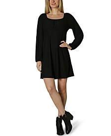 Juniors' Emma Scoop-Neck Dress
