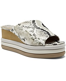 Women's Pendrea Stacked Wedge Sandals