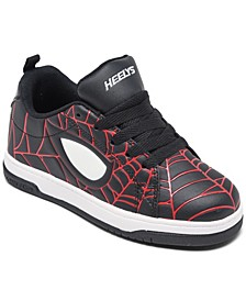Boys Split Spider-Man Wheeled Casual Athletic Skate Sneakers from Finish Line