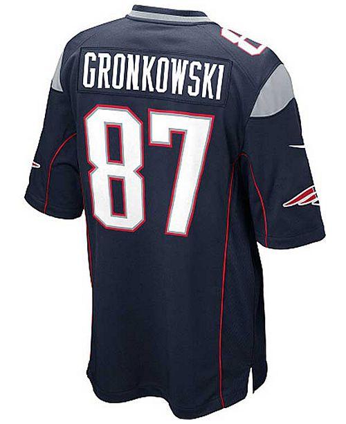 Nike Kids' Rob Gronkowski New England Patriots Game Jersey, Big Boys (8-20)