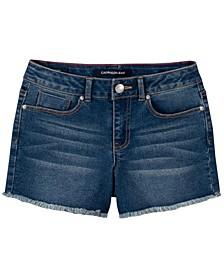 Big Girls Cut Off Boyfriend Shorts