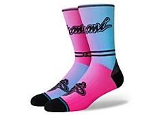 Miami Heat City Edition Crew Socks
