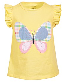 Baby Girls Garden Butterfly Tee, Created for Macy's