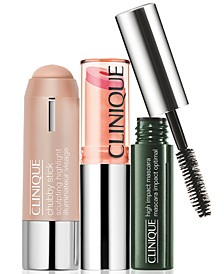 3-Pc. Glow On The Go Makeup Set