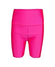 Little Girls High Waist Shorts