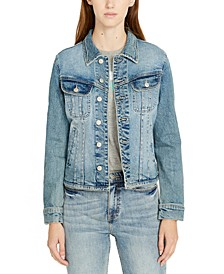 Themis Slim-Fit Denim Jacket