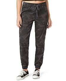 Juniors' Daniella Cargo Jogger Pants