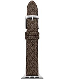 Micro Logo Brown 38/40mm Apple Watch® Band