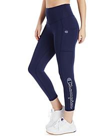 Women's Double Dry High-Waist 7/8 Length Leggings