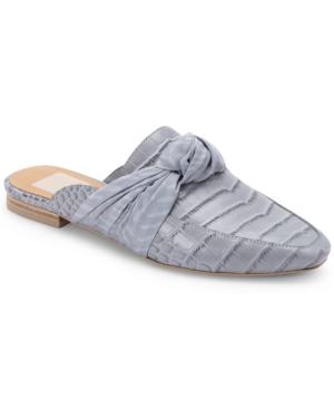 Dolce Vita HYLDA KNOTTED SLIP-ON MULE FLATS WOMEN'S SHOES