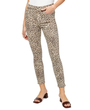 Jen7 By 7 For All Mankind Skinny jeans JEN7 BY 7 FOR ALL MANKIND LEOPARD-PRINT SKINNY JEANS
