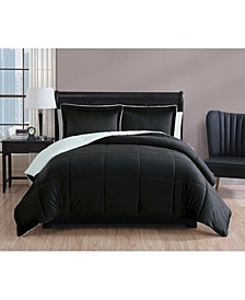 Micromink Sherpa Comforter Set, Twin