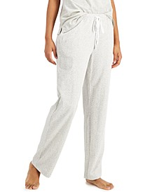 Cotton Knit Pajama Pants, Created for Macy's
