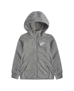 Nike TODDLER BOY JERSEY FULL ZIP HOODIE
