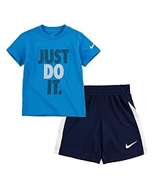 Toddler Boy Just Do It Short Set